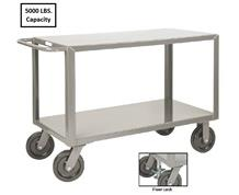ALL-WELDED EXTRA HEAVY DUTY SHELF TRUCK