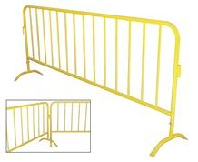 CROWD CONTROL INTERLOCKING BARRIER